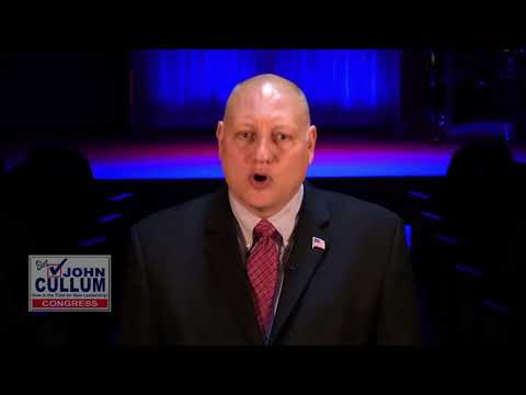 Vote for John Cullum for Congress