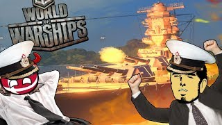 TWO IDIOTS SINK THE YAMATO - World Of Warships Ft Bokoen1