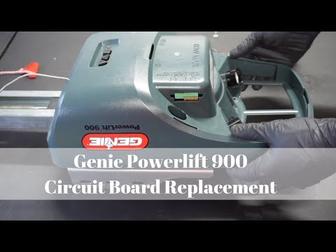 Genie Powerlift 900 Circuit Board Replacement