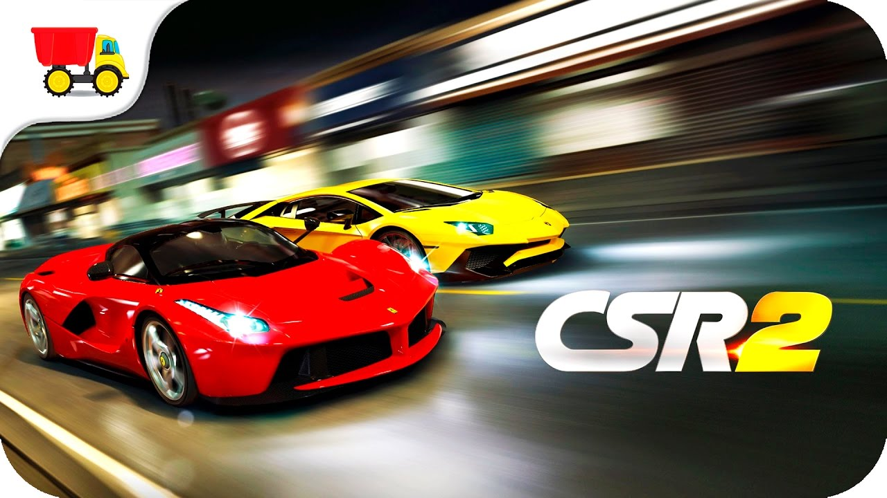 csr2 best mobile drag racing game kids car games