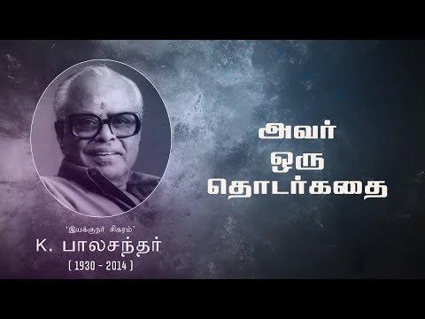 Tribute to K Balachander