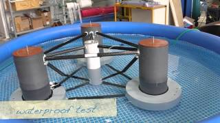 Scaled wave tank tests of a semisubmersible floating 10MW wind turbine
