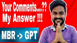 How to change MBR to GPT | Download free fire in laptop | Tamil