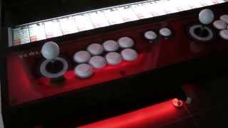 Taito Vewlix F Cabinet, Running Street Fighter Iv Ultra