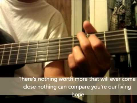 Holy Spirit Jesus Culture Acoustickaraoke With Chords Youtube
