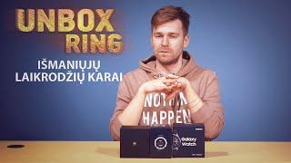 IŠMANIŲJŲ LAIKRODŽIŲ KARAI   SAMSUNG VS HUAWEI VS SUUNTO   Unbox Ring apžvalga