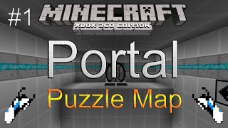 Minecraft(Xbox 360) Portal(Puzzle Map) Part 1(Download)