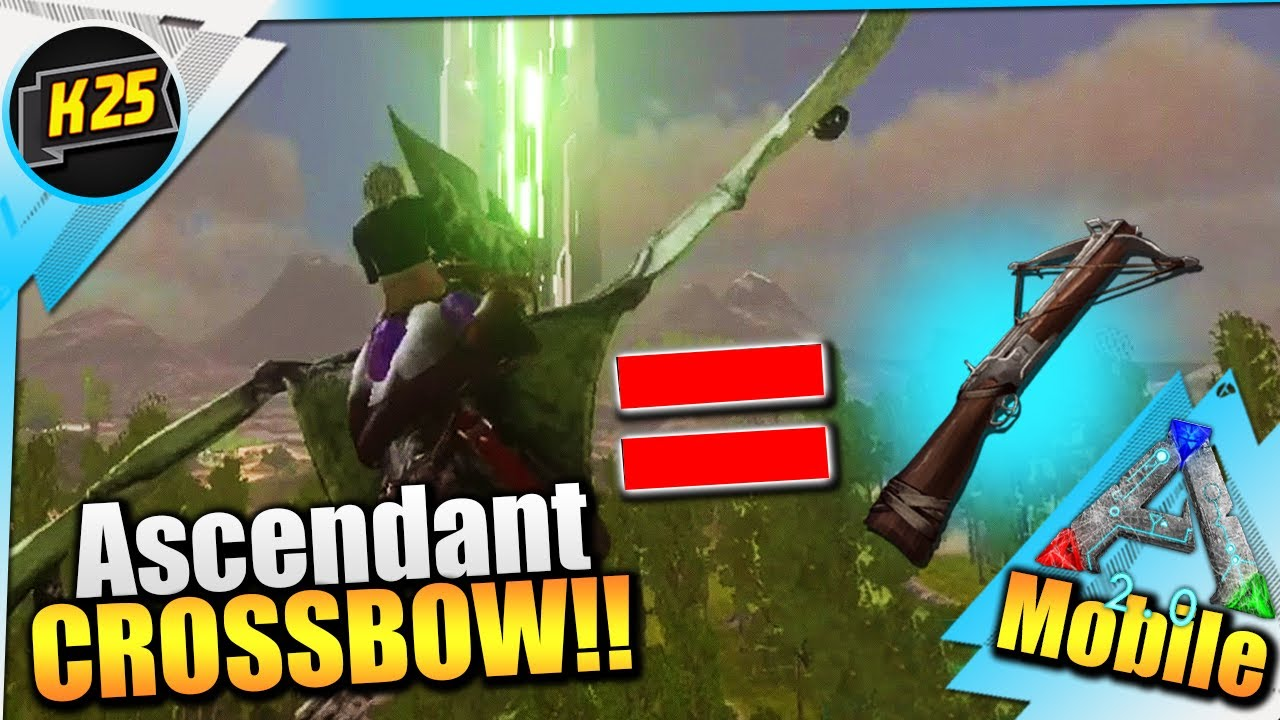 The Ability To FLY = ASCENDANT Crossbow !?|RAFT 2.0 Survival Ep4 W/Kamz25|Hard Ark Mobile