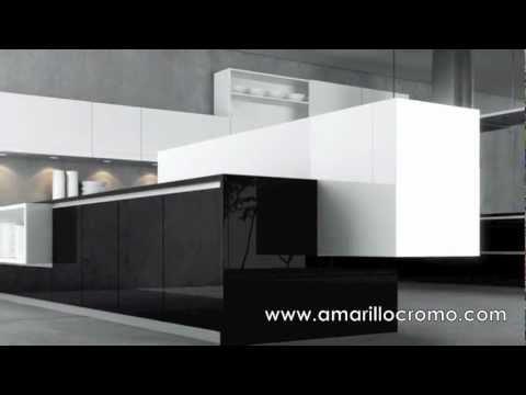 Mobiliario moderno de cocina de dise o minimalista youtube for Cocinas minimalistas