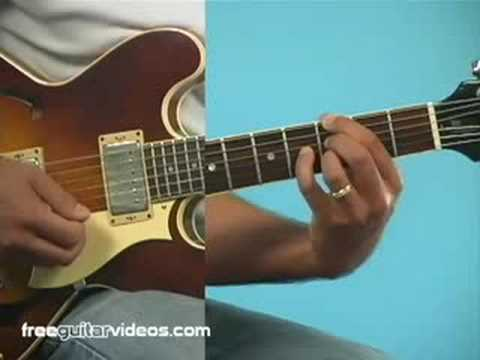 Jazz Guitar Lesson: Intro to 2-5-1 Chords