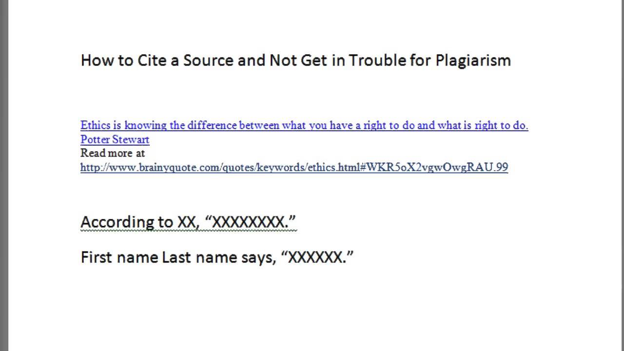 how to cite a source properly with closed captioning