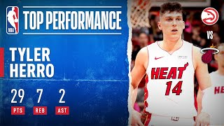 Tyler Herro Goes OFF For 29 PTS (19 in 2Q)!