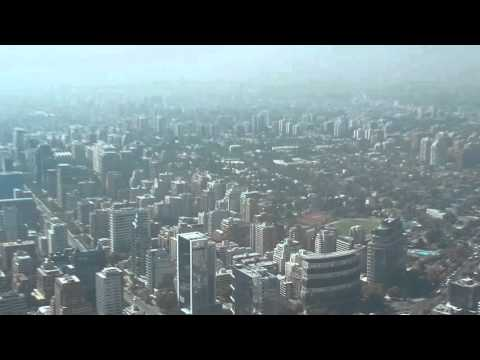 Nikon S9900 Zoom test - Gran Torre Santiago observation deck