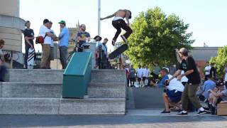 Spencer Hamilton Switch bs flip Lloyds @ Bristol Supra GoSkate Day 2014