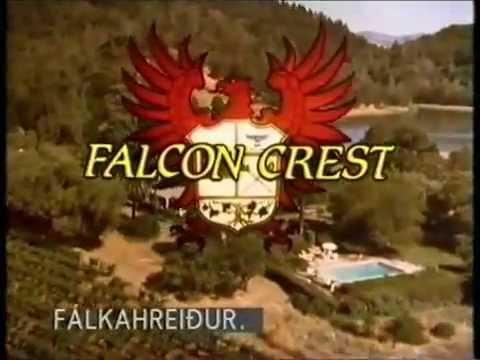 """مقدمة المسلسل الامريكي الشهير """"فالكون كريست Falcon Crest"""" motarjam"""