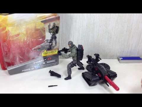 G I Joe Retaliation Ultimate Firefly Toy Review