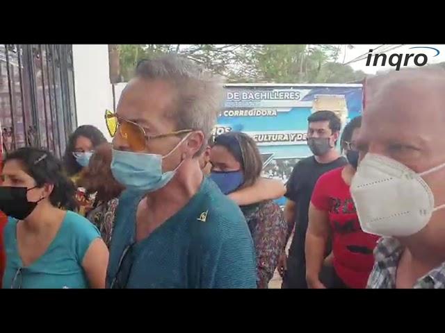 Vecinos denuncian presunto cierre de casilla en Corregidora