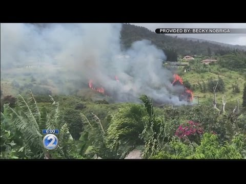 Large brush fire in Central Maui affects utility service to residents