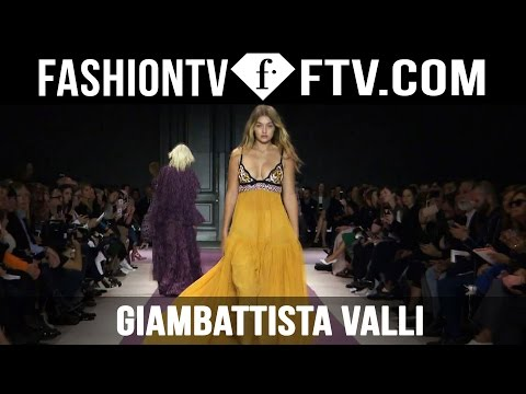 Giambattista Valli Spring 2016 Collection at Paris Fashion Week | PFW | FTV.com