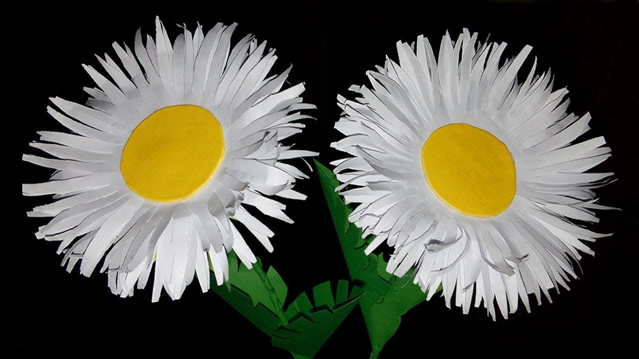 Flowerupc How To Make Flower From White Paper Flower Making