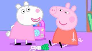 Свинка Пеппа на русском все серии подряд - Компиляция школы 1 - Мультики