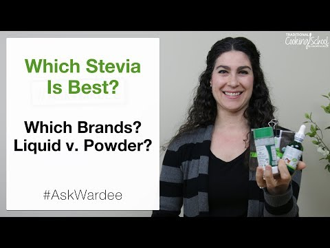Which Stevia Is Best? Brands? Liquid v  Powder?   #AskWardee 107
