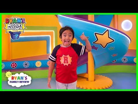 Surprise Ryan with Giant Slide on Ryan's Mystery Playdate Season 2!!!!