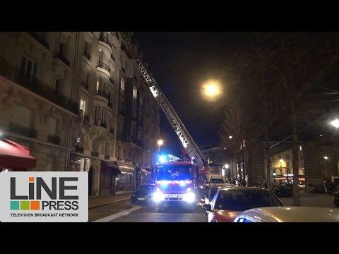 Deux appartements soufflés par une explosion due au gaz / Paris - France 28 janvier 2017