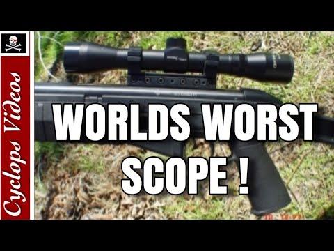 World's Worst Scope Centerpoint 4x32