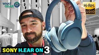SONY H.Ear On 3 Vs WH-1000XM3 Headphones