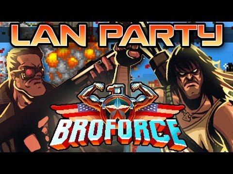Broforce! - LAN Party  