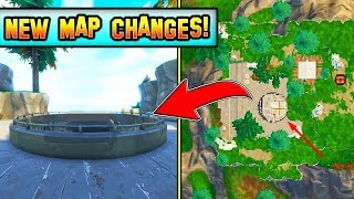 *NEW* MAP CHANGES LEAKED! (Update v4.5) ROCKET HAS LAUNCHED! Fortnite Update!