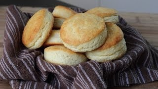 Cream Biscuits - Easy Light & Flaky Cream Biscuits