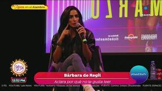 Bárbara de Regil revela que no…