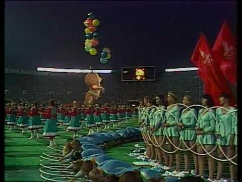 Закрытие Олимпиады-80 в Москве / Moscow Olympics 1980 Closing