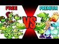 Gambar cover Team Pea FREE vs PREMIUM? - Which Team Plant Will Win? - PvZ 2 Plant vs Plant