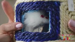 Trixie TX 4537 Игрушка Барабан с мышкой для кошек