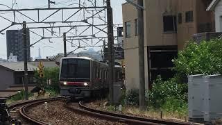 名鉄瀬戸線4000系 4005f(普通尾張瀬戸行き)矢田カーブ通過‼️