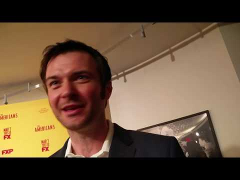 Costa Ronin at 'The Americans' season 5 premiere on Oleg's return to Russia