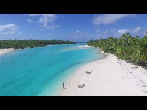 Aitutaki Cook Islands Drone 2017