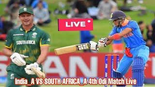 Live Score India A Vs Sri Lanka 4th Unofficial Odi Ind Live