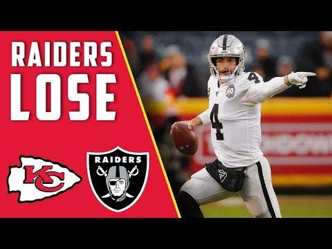 Raiders LOSE Vs Chiefs Week 13 Postgame Show
