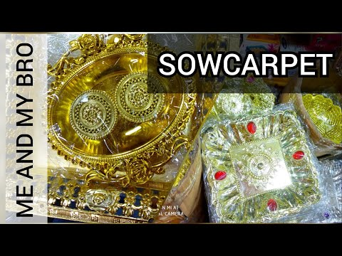 Sowcarpet Shopping|| A Day In My Life Vlog || Dumdumdum #1