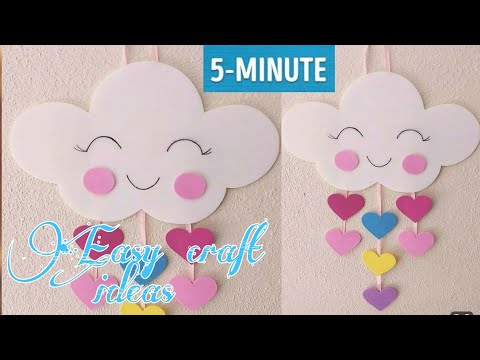 craft-for-kids-|-wall-hanging-craft-ideas-with-paper-|-diy-room-decor-|-new-craft-ideas-2020