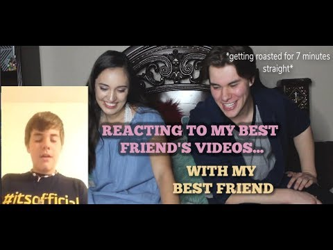 REACTING TO MY BEST FRIEND&39;S WITH MY BEST FRIEND