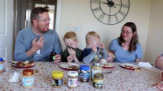 Americans React to Weird British Peanut Butter & Chocolate Spreads