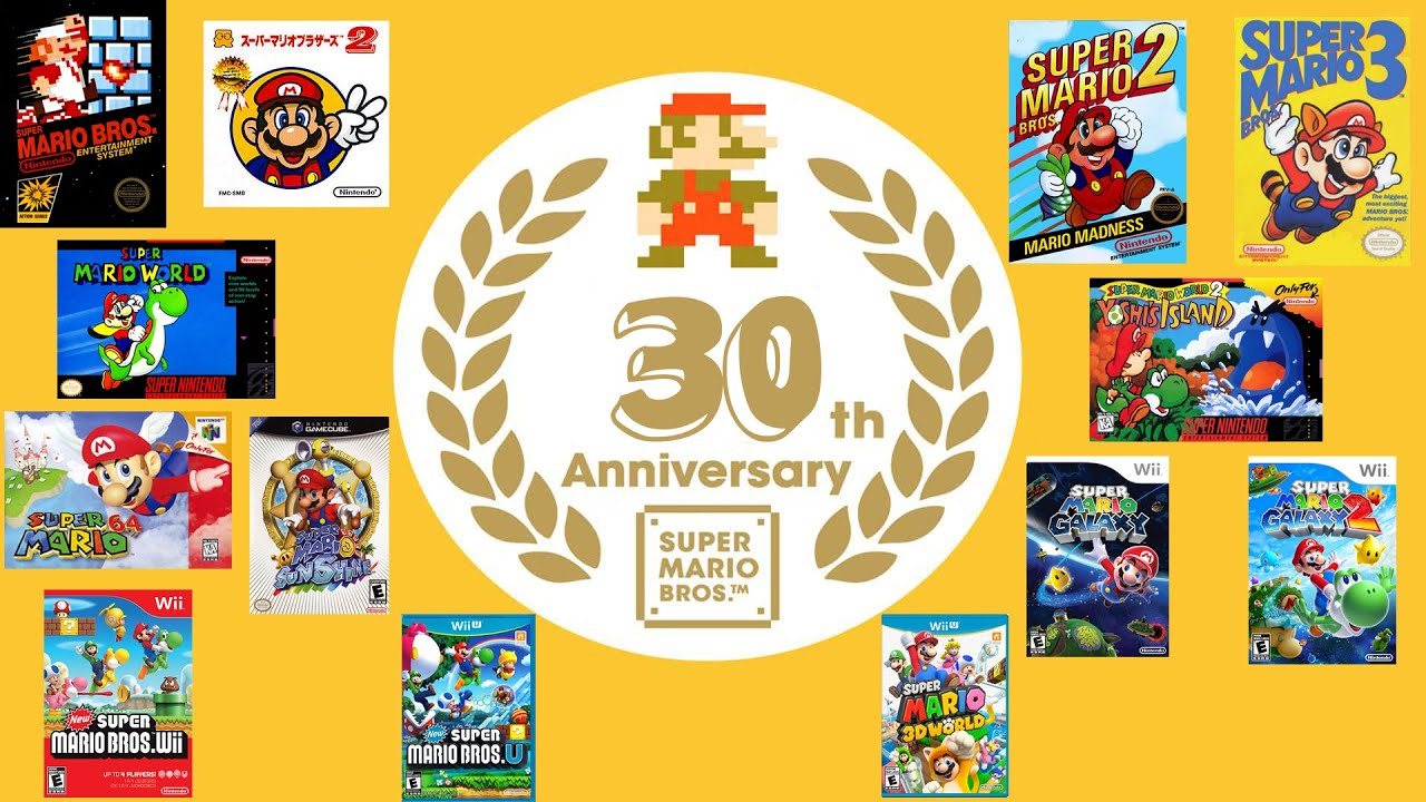 Super Mario 30th Anniversary - Super Mario Bros. 2 (All ...
