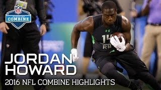 Jordan Howard (UAB & Indiana, RB) | 2016 NFL Combine Highlights