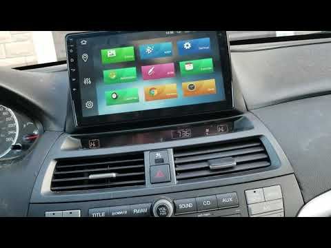 Seicane Android not working on Honda Accord 2008