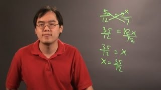 How to Solve Pŗoportions Using Cross Products : Number Theory Education